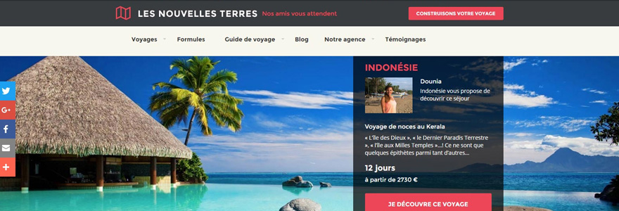 Websites for travelers